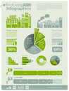 Ecology info graphics Royalty Free Stock Photo