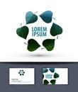 Ecology. logo, sign, icon, emblem, template,