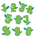 Ecology Numbers Stock Images