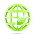 Ecology symbol Royalty Free Stock Photo