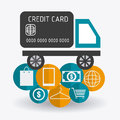 Ecommerce design, vector illustration. Royalty Free Stock Photo