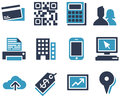 ECommerce Icons Royalty Free Stock Photography