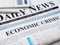 Economic crisis Royalty Free Stock Photo