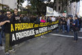 Economic crisis in Rio de Janeiro affects Police Royalty Free Stock Photo