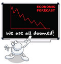 Economic forecast Stock Image