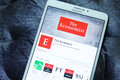 The Economist mobile app
