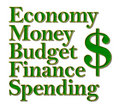 Economy Money Budget Finance Spending Royalty Free Stock Images