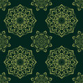 Ector seamless pattern in boho style. Royalty Free Stock Photo