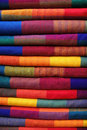 Ecuador colorful textile Stock Image