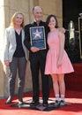 Ed Harris & Amy Madigan & Lily Harris Royalty Free Stock Photo