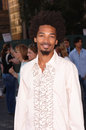 Eddie steeples actor star of tv series my name is earl at party in los angeles to launch the new season on nbc tv july los angeles Stock Image