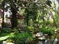 Eden garden paradise at the museum erawan tailand samut prakan Royalty Free Stock Images