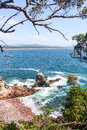 Eden nsw on south coast of new south wales Stock Photo