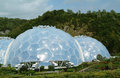 Eden Project Biomes 2 Stock Photo
