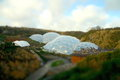 Eden Project tilt and shift Royalty Free Stock Images