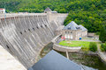 Edersee dam germany fill hessen Royalty Free Stock Images