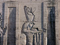 Edfu Temple, Egypt Royalty Free Stock Photo