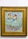 Edgar Degas  - at Albertina museum in Vienna Royalty Free Stock Photo