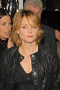 Edge jodie foster the edge jodi foster jody foster at of darkness los angeles premiere chinese theater hollywood ca Stock Image