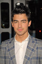Edge joe jonas the edge jona at of darkness los angeles premiere chinese theater hollywood ca Stock Photos