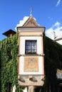 Edge of renaisance house Royalty Free Stock Photo