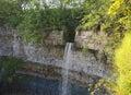 The edge, that starts the waterfall. Estonia Royalty Free Stock Photo