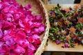 Edible roses Royalty Free Stock Photo