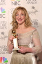 Edie falco the sopranos jan actress at golden globe awards where she won for best actress in a tv series drama for jean Royalty Free Stock Photos