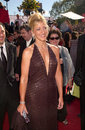 Edie falco sopranos star at the nd annual emmy awards in los angeles Stock Image