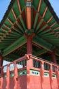 Edifício chinês Fotografia de Stock