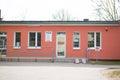 Edificio de la emergencia Imagen de archivo