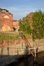 Edificios antiguos en nueva holland island Imagen de archivo