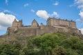 Edinburgh Castle on Castle Rock Royalty Free Stock Photo