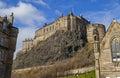 Edinburgh Castle in Edinburgh Royalty Free Stock Photo