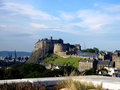 Edinburgh Castle, Scotland Stock Photos