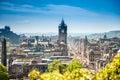 Edinburgh city Scotland Royalty Free Stock Photo