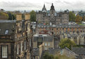 Edinburgh cityscape over in scotland Royalty Free Stock Image
