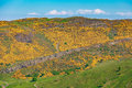 Edinburgh mountains -  Arthur Seat, Salisbury Crags Royalty Free Stock Photo