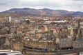 Edinburgh s skyline scotland panorama of united kingdom photo was taken th may Stock Images