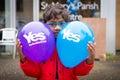 """Edinburgh schotland het uk †"""" september de dag van het onafhankelijkheidsreferendum Royalty-vrije Stock Afbeelding"""