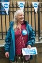 """Edinburgh schottland britisches †""""am september unabhängigkeits referendumtag Lizenzfreie Stockbilder"""