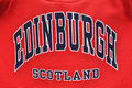Edinburgh, Scotland - University style sweatshirt Royalty Free Stock Photos