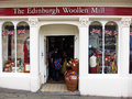 The edinburgh woollen mill photo taken in Royalty Free Stock Photography