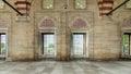 Edirne, Turkey - May 24, 2014: Interior walls of Selimiye Mosque in Edirne Royalty Free Stock Photo