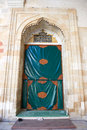 EDIRNE, TURKEY, Mosque Samii 1437 - 1447 in the city of Edirne in Turkey. The doors of the mosque, the entrance Royalty Free Stock Photo