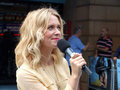 Edith Bowman At Going The Distance Premiere Royalty Free Stock Photo