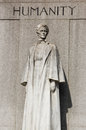 Edith Cavell Monument, London Stock Photos