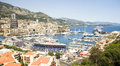 Editorial Monaco Grand Prix harbor Royalty Free Stock Photos