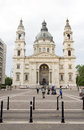 Editorial St. Stephen's Basilica Budapest Hungary Royalty Free Stock Photos