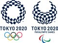 Editorial - Visuals for Tokyo 2020 Olympic and Paralympic Games Royalty Free Stock Photo